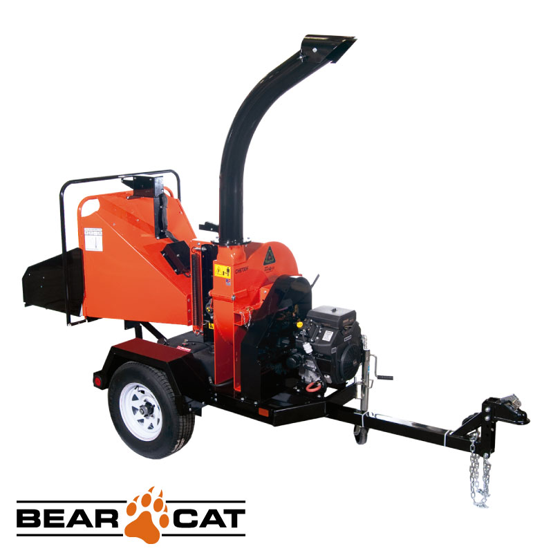 Chipeadora 152mm 725cc 25hp Con Trailer Echo Bear Cat Ch6730h