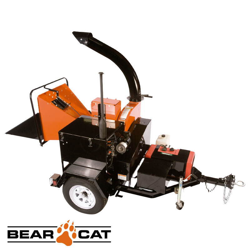Chipeadora 229mm 1100cc 28hp Con trailer Echo Bear Cat Ch911dh