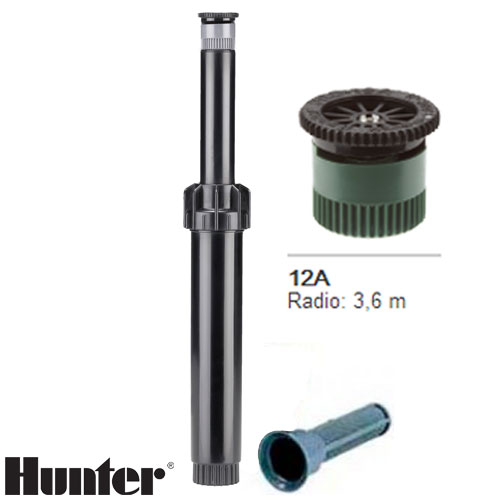 TOBERA HUNTER PS ULTRA BOQUILLA INTERCAMBIABLE 12A RADIO 3.6 MT