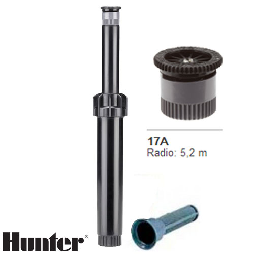 TOBERA HUNTER PS ULTRA BOQUILLA INTERCAMBIABLE 17A RADIO 5.2 MT