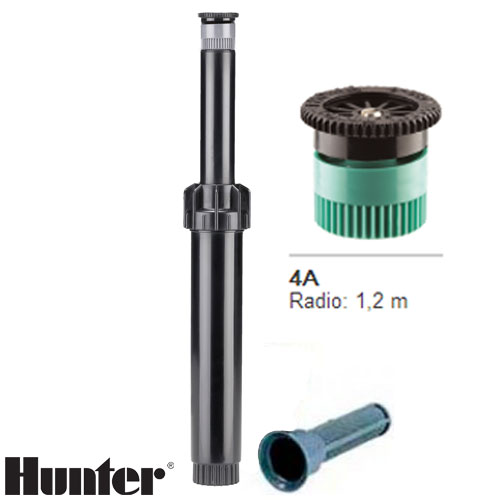 TOBERA HUNTER PS ULTRA BOQUILLA INTERCAMBIABLE 4A RADIO 1.2 MT