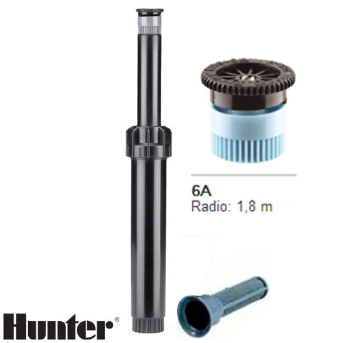 TOBERA HUNTER PS ULTRA BOQUILLA INTERCAMBIABLE 6A RADIO 1.8 MT