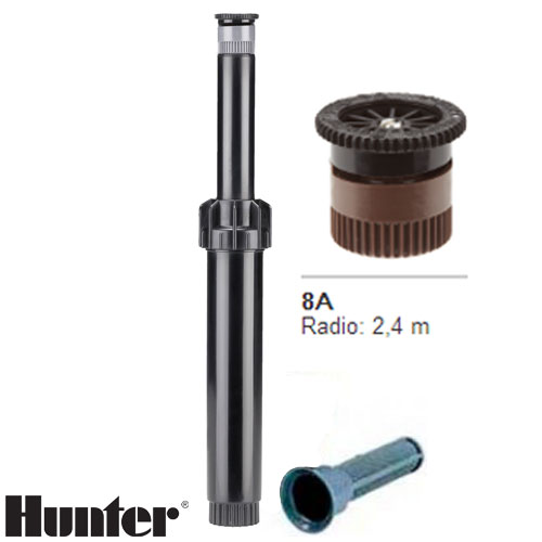 TOBERA HUNTER PS ULTRA BOQUILLA INTERCAMBIABLE 8A RADIO 2.4 MT