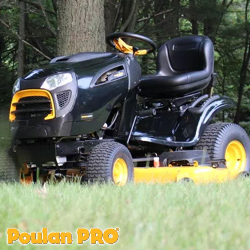 Tractor Corta Cesped Poulan Pro Briggs & Stratton PP24VH54