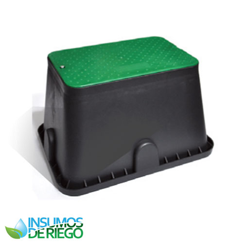 CAJA RECTANGULAR ESTANDAR (38X51X30) PARA VÁLVULAS DE RIEGO HUNTER, RAIN BIRD