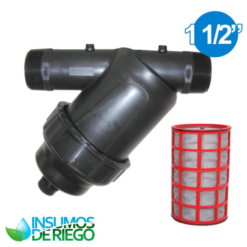 1 filtros para riego plasticos en linea y roto filters - Filtro de malla ...