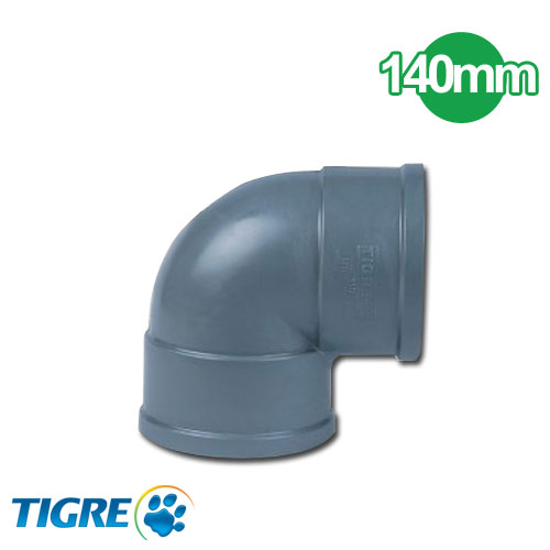 CODO 90º PVC SOLDABLE 140mm