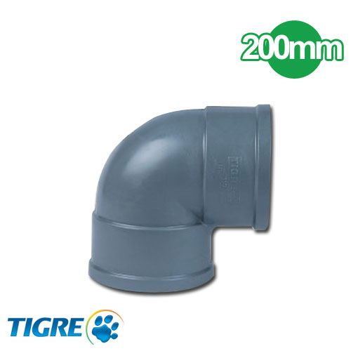 CODO 90º PVC SOLDABLE 200mm