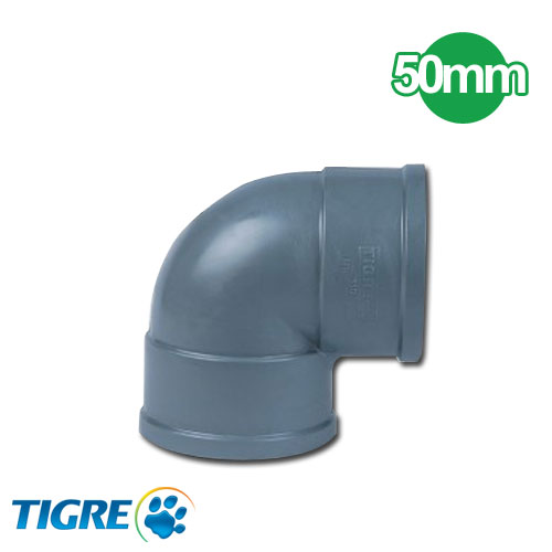 CODO 90º PVC SOLDABLE 50mm