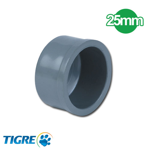 TAPA PVC SOLDABLE 25mm