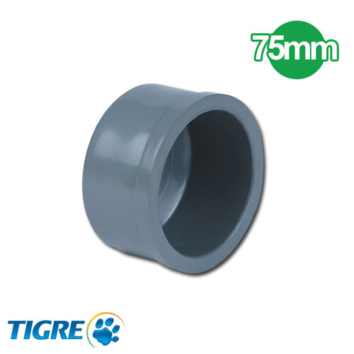 TAPA PVC SOLDABLE 75mm