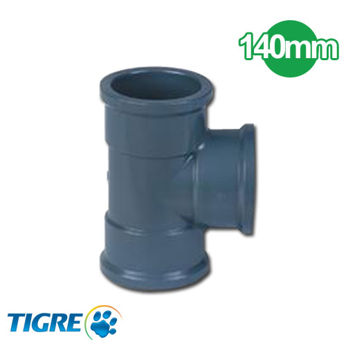 TEE 90º PVC SOLDABLE 140mm