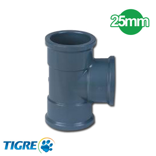 TEE 90º PVC SOLDABLE 25mm
