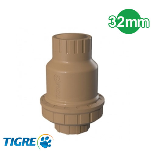VALVULA DE RETENCION PVC SOLDABLE 32MM