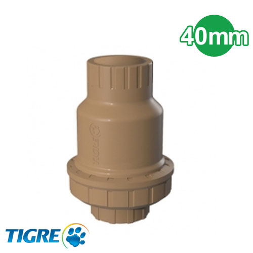 VALVULA DE RETENCION PVC SOLDABLE 40MM